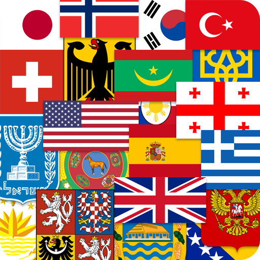 Flags of the World Emblems of Countries Quiz 2.01 .APK MOD Unlimited money Download for android