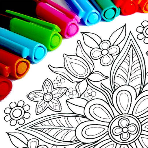 Mandala Coloring Pages 13.6.0 .APK MOD Unlimited money Download for android