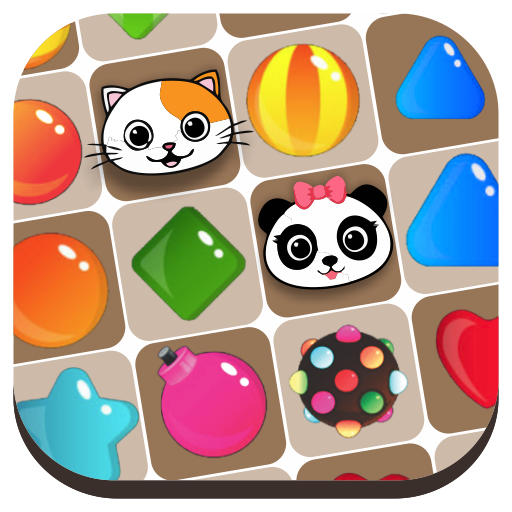 Candies Match 3 Save Your Pets 2019 1.0.7 .APK MOD Unlimited money Download for android