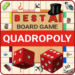 Quadropoly Best AI Board Business Trading Game .APK MOD Unlimited money Download for android